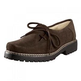 Bruine trachten schoenen