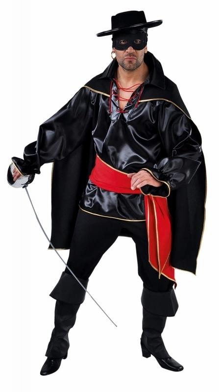 Zorro kostuum Luxe