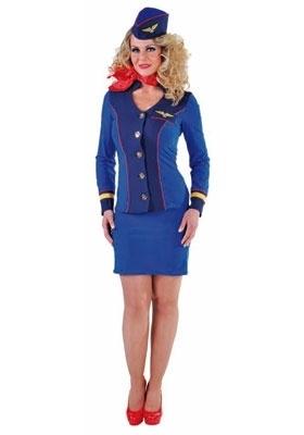 Stewardess Sky Blue