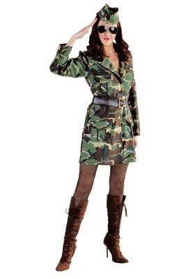 GI Jane legervrouw
