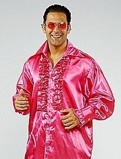 Roesel blouse donker roze