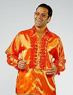Roesel blouse oranje