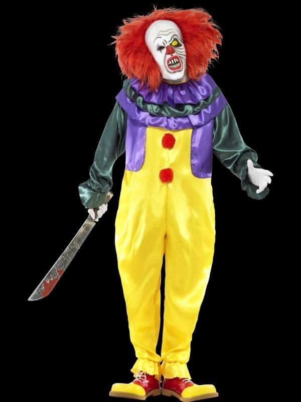 Scary clown It kostuum