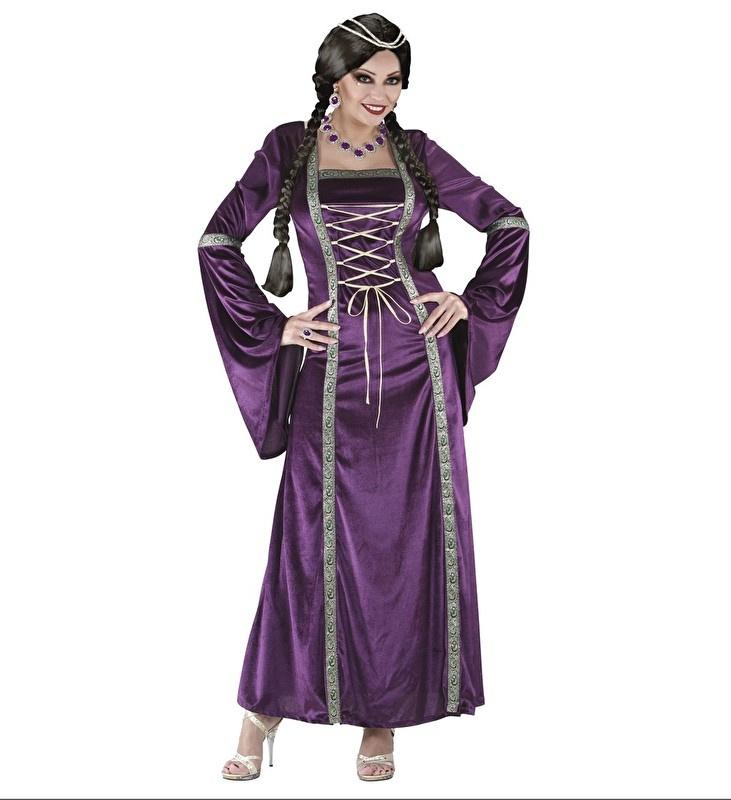 Prinses middeleeuwen paars