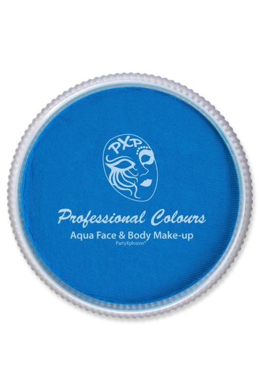 Pro schmink aqua PXP neon blauw 30gr