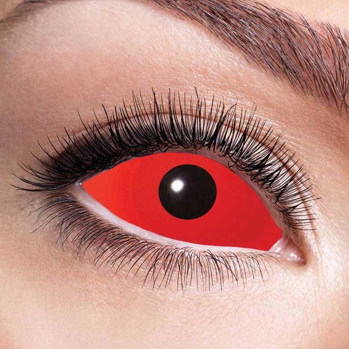 Party lenzen Sclera red eye