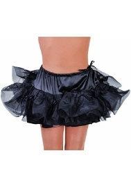 Petticoat heupmodel zwart