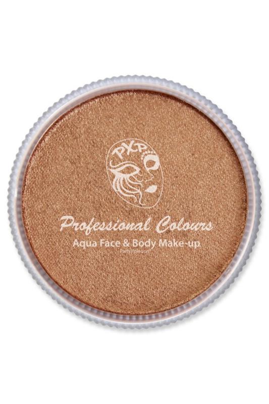 Pro schmink aqua PXP metallic brons 30gr