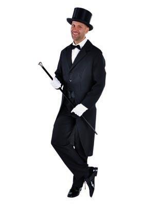 Zwarte Slipjas heren