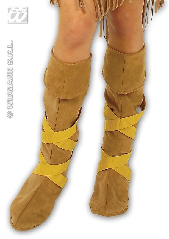 Schoenen opzet indiaan