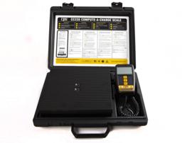 CPS weegschaal CC220 max.100kg op 10gr nauwkeurig, geheugen functie incl. koffer en batterijen