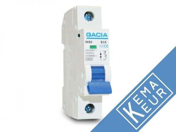 Installatieautomaat 1 polig 16A C karakteristiek