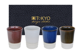 Tokyo Espresso Cup Giftset 4pcs 5.6x7cm