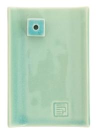 Incense Burner Yukari Plate green celadon