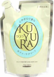 Shiseido Kuyura body care SOAP revitalizing scent Refill 400ml