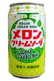 Kobe Kyoryuchi Melon Cream Soda 350ml