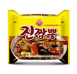 Jin Jjambbong Seafood Ramen Multi Domestic 130g