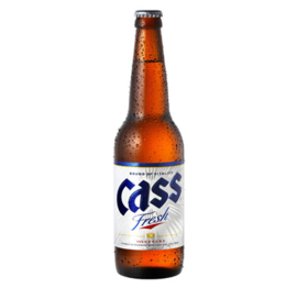 Korean Cass Beer bottle 330ml