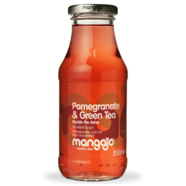 Mangajo Pomegranate & Groene thee 250ml