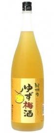 Yuzu Umeshu Plum wine Kishu 720ml