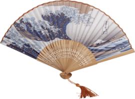 Waaier Japanse Golven  21 CM