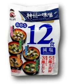 Instant Low Salt Miso Soup 12 Portions