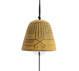 Iwachu Furin Feng Shui Bell Amarilla 4,5 cm