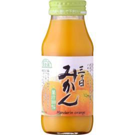 Junzosen Mikkabi Mikan  mandarin orange 180 ml