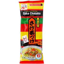 Nagatanien Salmon Chazuke Rice Soup Seasoning, 33 g, 6 sachets