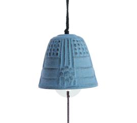 Iwachu Furin Feng Shui Bell Light Blue 4,5 cm