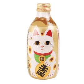 Kimura Fukumaneki Honey Soda 300ml lucky cat
