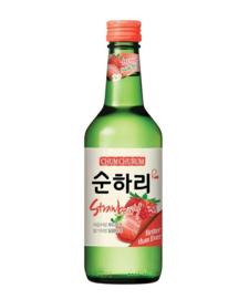 Chum Churum Soju Strawberry 12% 360ml