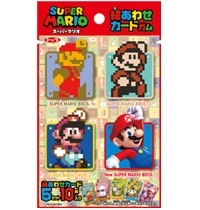 Super Mario Eawase Card Chewing Gum