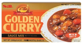 S&B Golden Curry Amakuchi Mild 220g