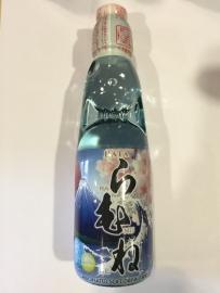 Hata Ramune Sakura Fuji Bottle