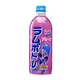 Sangaria Grape Soda Ramune Bottle