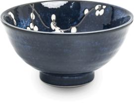 Bowl Hana flower deep blue  Ø15,7 cm | H8 cm