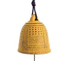 Iwachu Furin Feng Shui Bell Yellow 5,5 cm