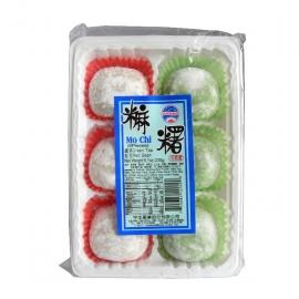Sun Wave Mochi - Green Tea & Red Bean 230g