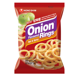 Onion Flavored Rings Hot & Spicy 40g