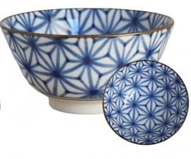 Old Nippon Blue Pattern Star 13x6,8cm