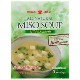 Instant Miso soep Mild & Smooth(3 Kop)