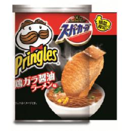 Pringles chicken soyu ramen