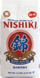 Nishiki Rice Musenmai Medium Grain 4.5kg