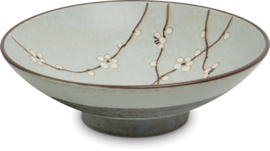 Hana Soshun Bowl light green  Ø24,5 cm | H7,8 cm