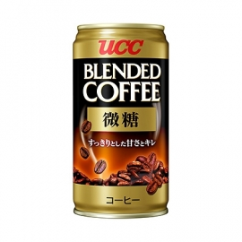 UCC Blended Coffee less sugar