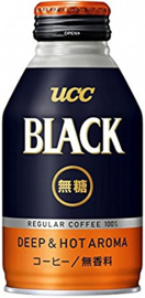 UCC Black Coffee Muto Deep & Hot Aroma