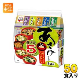 Nagatien 5 Kinds of Freeze- Dried Miso Soup