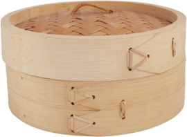 Bamboo Steam basket 1 layer with lid Ø25 cm