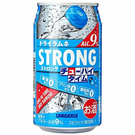 Cocktail Strong Chuhai Time Zero Dry Ramune 9%